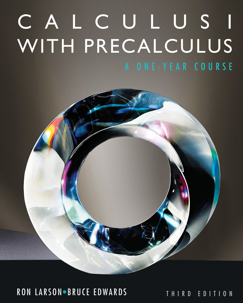 Calculus I with Precalculus, 3rd Edition - Cengage