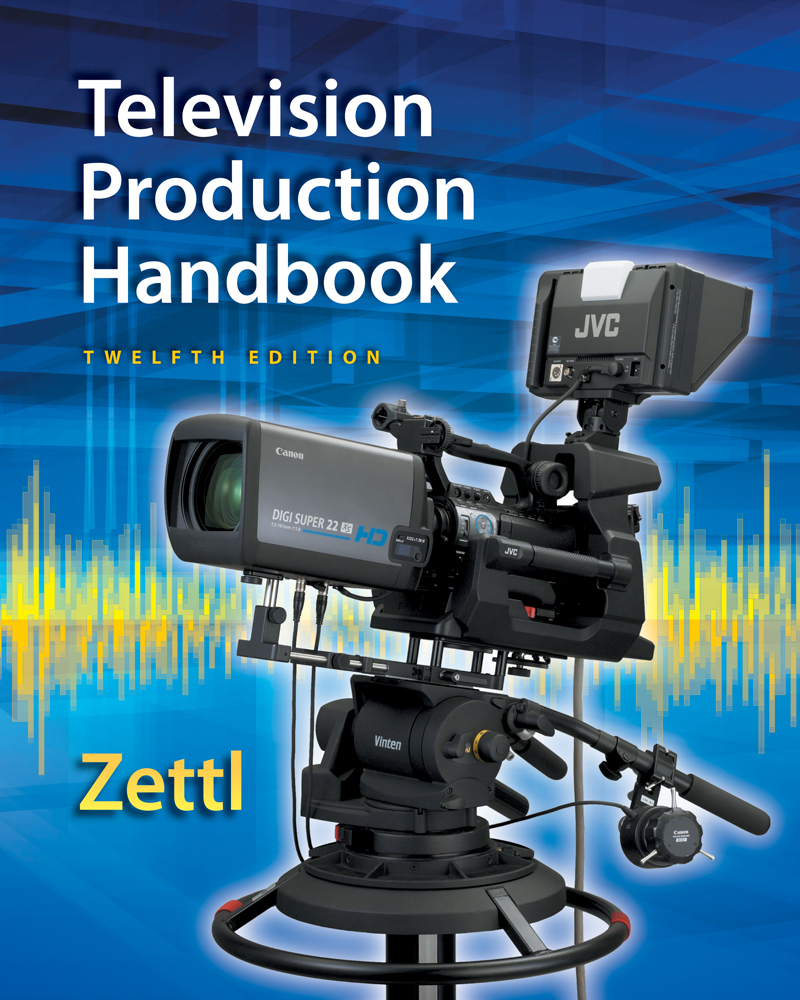 Television production handbook 12th edition 9781285052670 cengage product cover for television production handbook 12th edition by herbert zettl fandeluxe Images