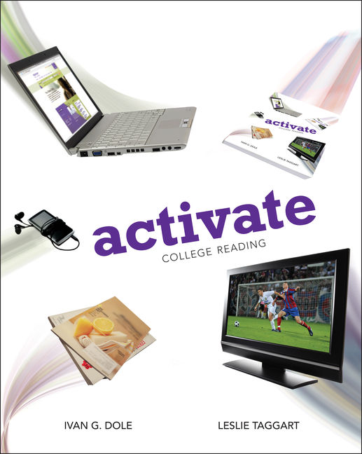 ???label.coverImageAlt??? Aplia for Activate: College Reading 1st Edition by Ivan Dole/Leslie Taggart