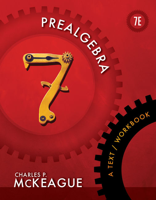 Prealgebra a textworkbook 7th edition 9781111986865 cengage product cover for prealgebra a textworkbook 7th edition by charles p mckeague fandeluxe Image collections