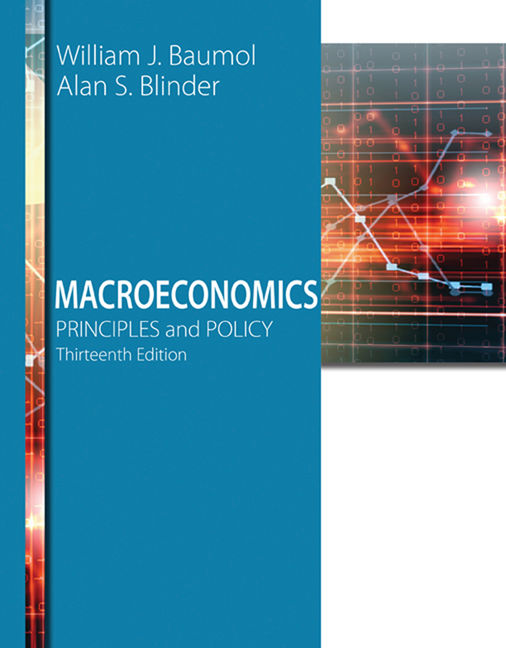 macroeconomics principles and policy