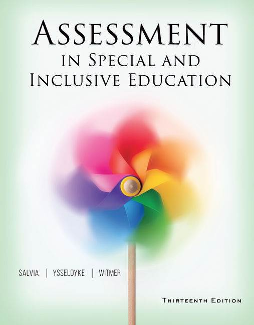 Assessment In Special And Inclusive Education 13th
