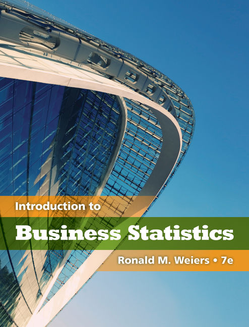 Introduction to business statistics 7th edition 9780538452199 introduction to business statistics 7th edition 9780538452199 cengage fandeluxe Image collections