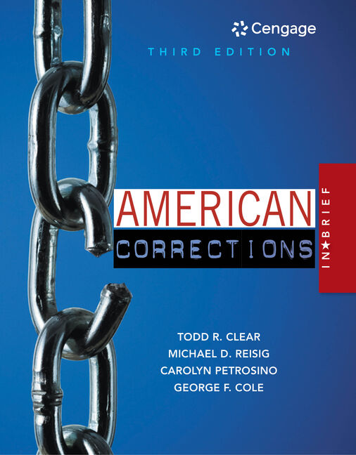 MindTap Criminal Justice For American Corrections In