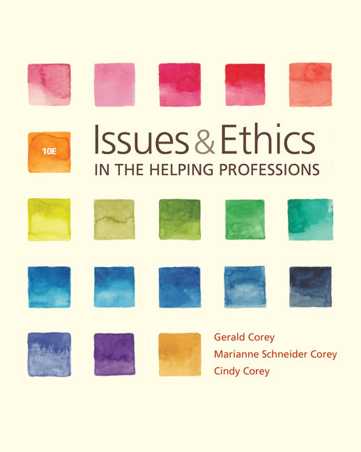issues and ethics in the helping profession Select a case study in chapter 11, issues and ethics in the helping profession,all of which are concerned with a family or couples issue write a 400-to 750-word.