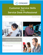 A Guide to Customer Service Skills for the Service Desk Professional 4th by Donna Knapp