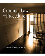 Criminal Law and Procedure 7th by Daniel E. Hall