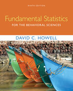Fundamental Statistics for the Behavioral Sciences 9th by David C. Howell