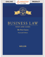 MindTap for Business Law: Text & Cases - The First Course 14th by Roger Miller