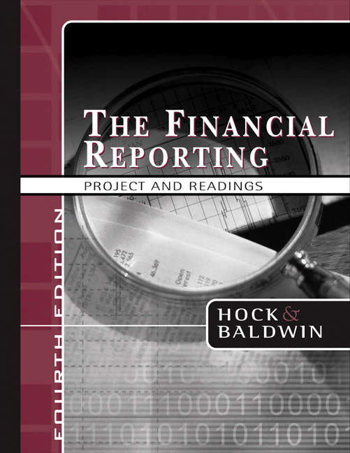 The Financial Reporting Project and Readings
