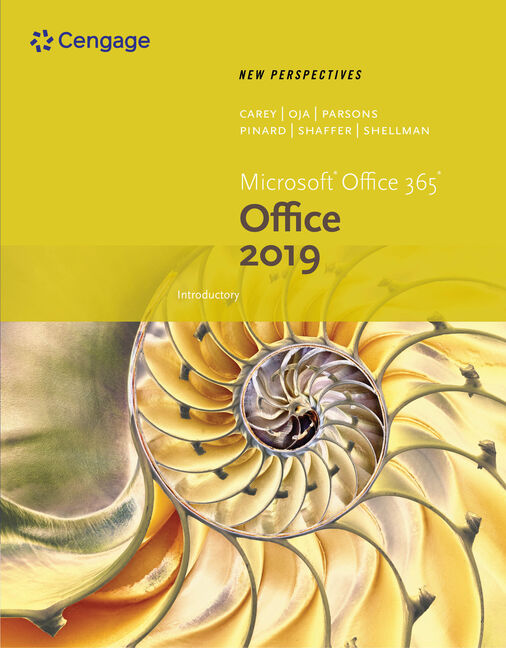 New Perspectives Microsoft® Office 365 & Office 2019 Introductory
