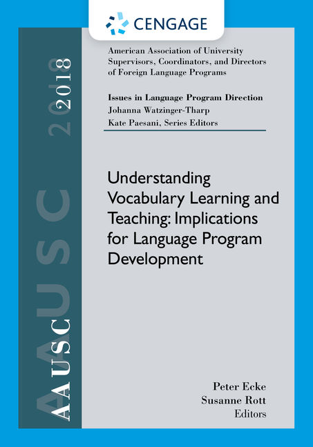 AAUSC 2018 Volume - Issues in Language Program Direction
