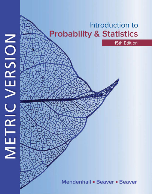 Introduction to Probability and Statistics Metric Edition