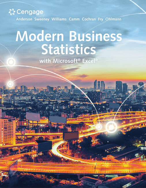 Modern Business Statistics with Microsoft® Excel®