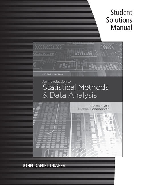 eBook Student Solutions Manual: An Introduction to Statistical Methods and Data Analysis