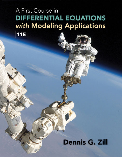 eBook Student Solutions Manual: A First Course in Differential Equations with Modeling Applications