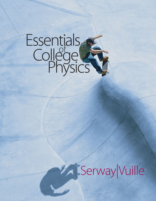 Student solutions manual with study guide volume 1 for serway essentials of college physics with cengagenow 2 semester and personal tutor printed access card fandeluxe Gallery