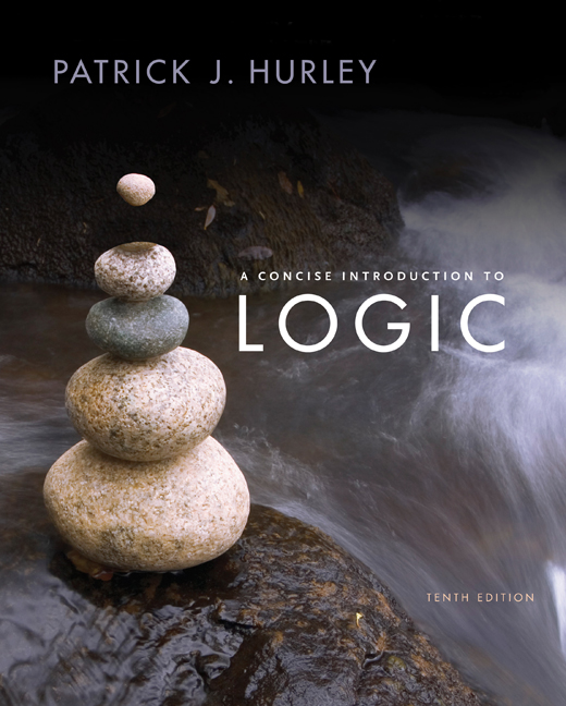 A concise introduction to logic 9781285196541 cengage study guide for hurleys a concise introduction to logic 10th fandeluxe Gallery