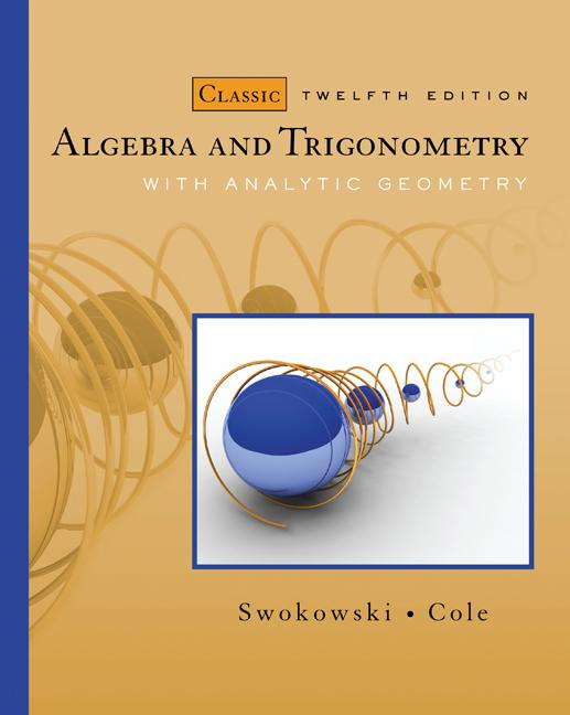 Ebook algebra and trigonometry with analytic geometry classic algebra and trigonometry with analytic geometry classic edition fandeluxe Gallery