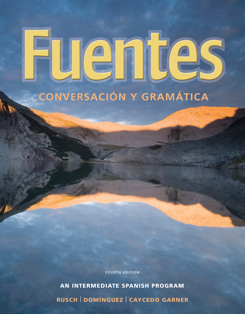 Answer key with audio script for ruschdomnguezcaycedo garners student activity manual for ruschdomnguezcaycedo garners fuentes conversacion y gramatica fandeluxe Images
