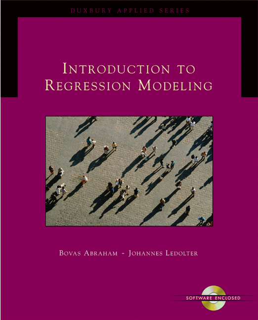 Introduction to Regression Modeling (with CD-ROM)