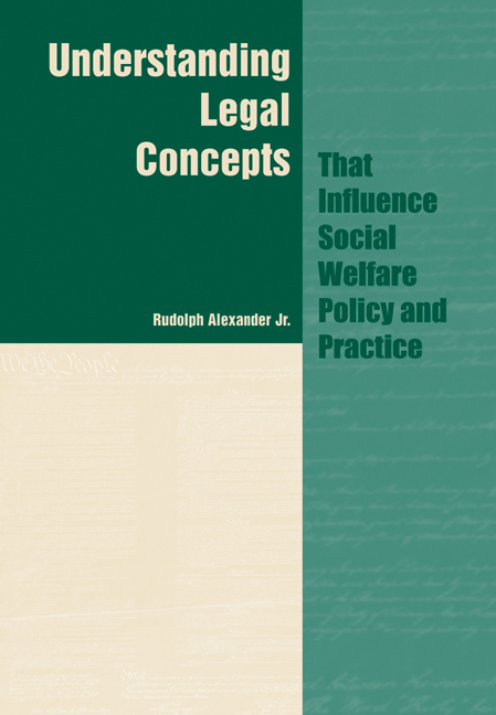 Understanding Legal Concepts that Influence Social Welfare Policy and Practice