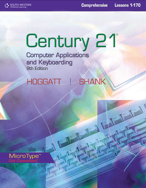 Century 21 computer applications and keyboarding lessons 1 170 ebook century 21 computer applications and keyboarding lessons 1 170 fandeluxe Images