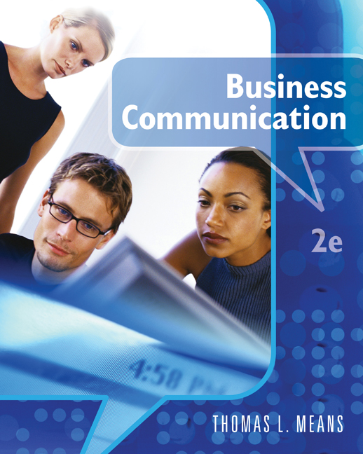 Business Communication Book Cover : Business communication  cengage