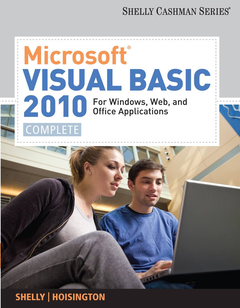 Microsoft® Visual Basic 2010 for Windows, Web, and Office Applications