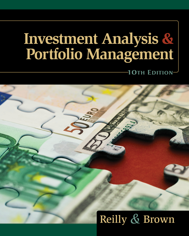 Investment Analysis And Portfolio Management 9780538482387 Cengage