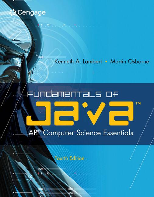Fundamentals of Java™