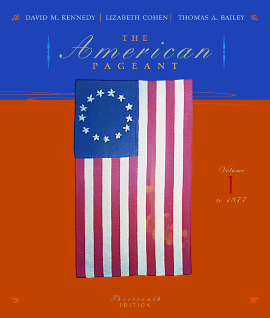 The American Pageant, Volume I: To 1877