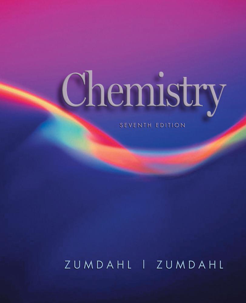 Study Guide for Zumdahl/Zumdahl's Chemistry, 7th