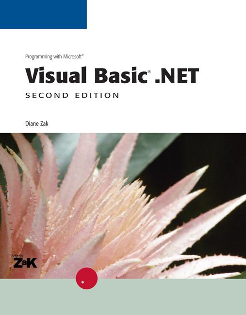 Programming with Microsoft Visual Basic®.NET