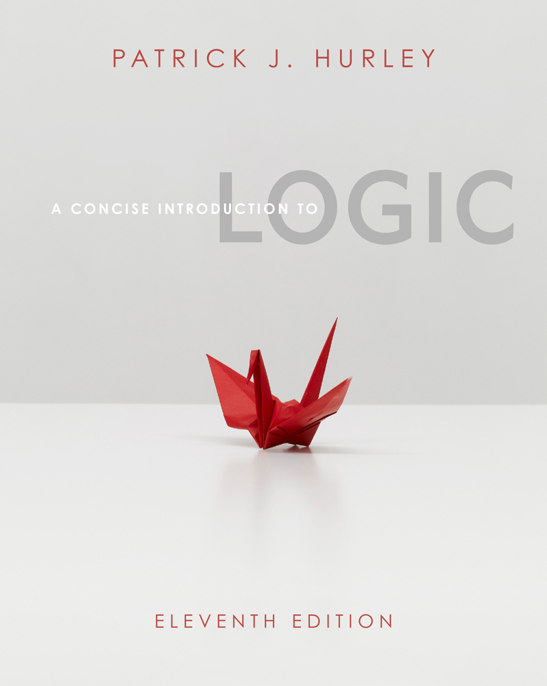 A concise introduction to logic (11th edition) by patrick j hurley.