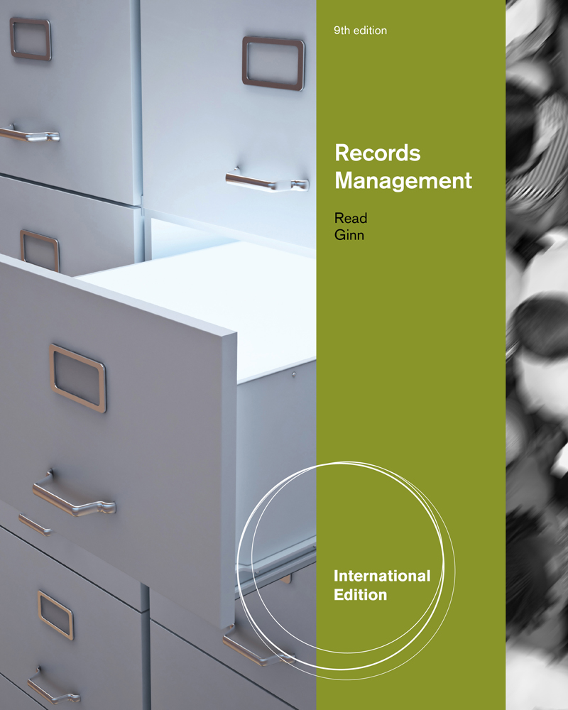 Study guide for readginns records management 9th 9780538731430 records management international edition fandeluxe Images