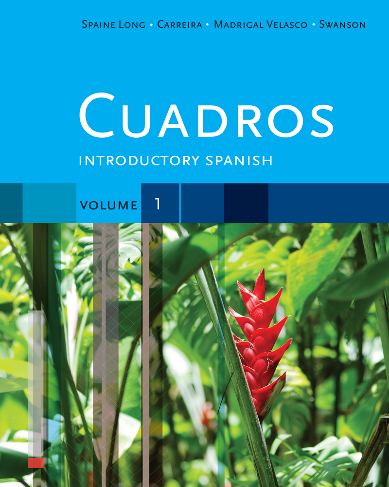 Cuadros Student Text, Volume 1 of 4