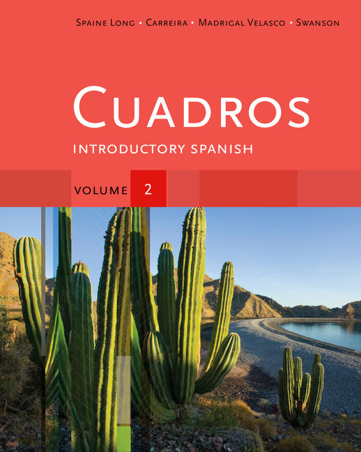 Cuadros Student Text, Volume 2 of 4