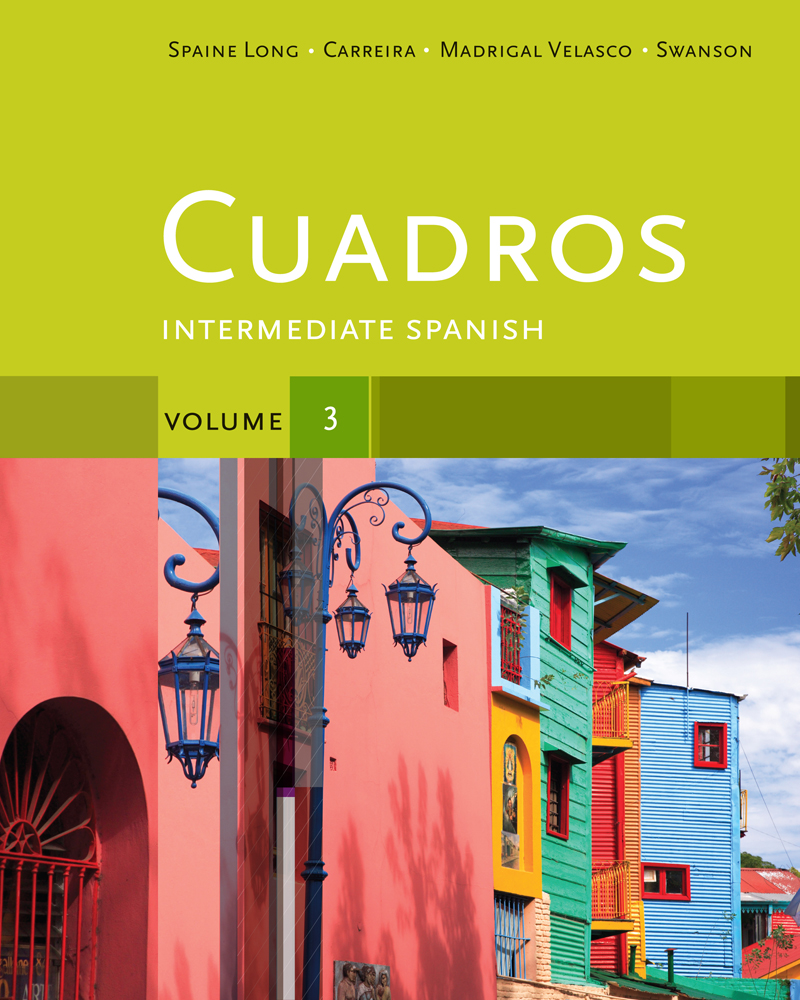 Cuadros Student Text, Volume 3 of 4