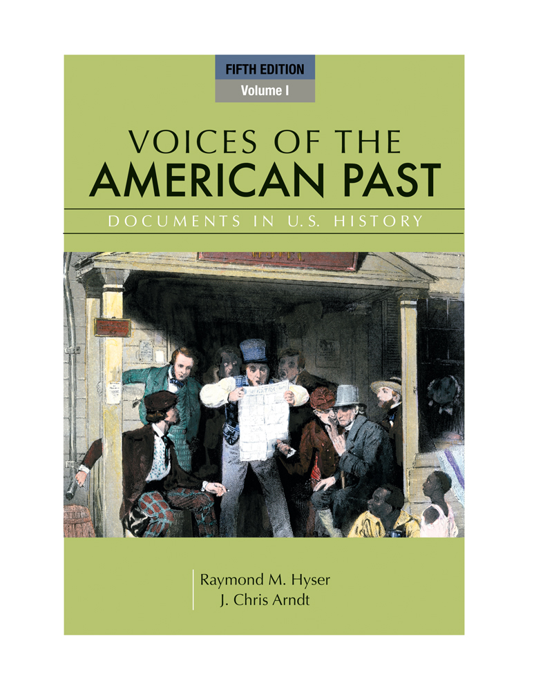 Voices of the american past 9780495102878 cengage voices of the american past volume i fandeluxe Image collections