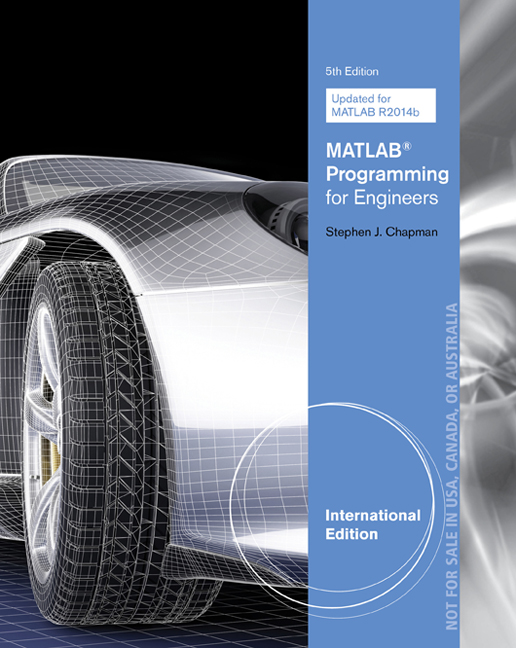 MATLAB Programming for Engineers, International Edition