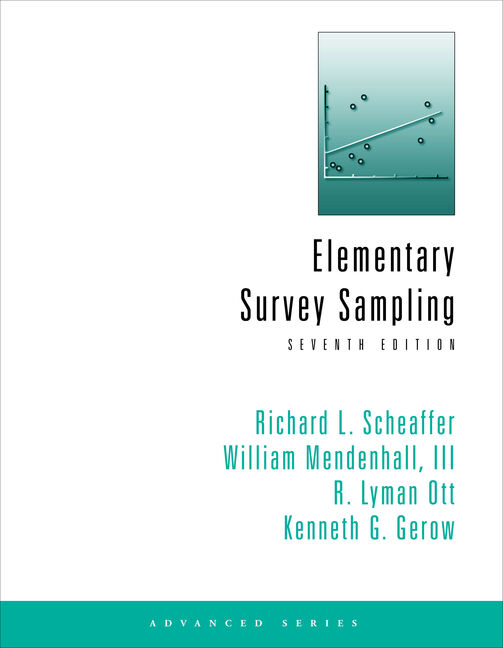 Student Solutions Manual for Scheaffer/Mendenhall/Ott/Gerow's Elementary Survey Sampling