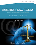 """business law cases Law the court used to solve it follow the """"irac"""" method in briefing cases: if the business is located in an upscale neighborhood."""