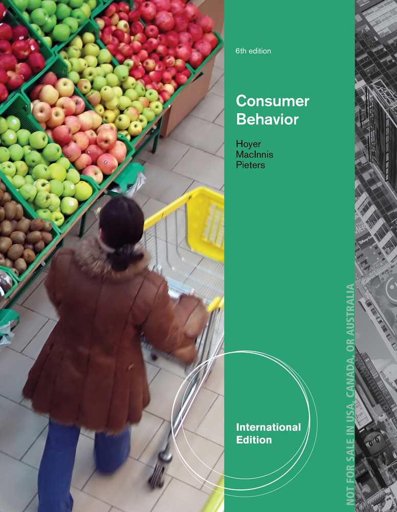 Consumer Behavior, International Edition