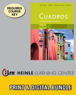 Bundle Cuadros Student Text Volume 3 Of 4 Intermediate Spanish ILrnTM Heinle Learning Center 1 Term 6 Months Printed Access Card