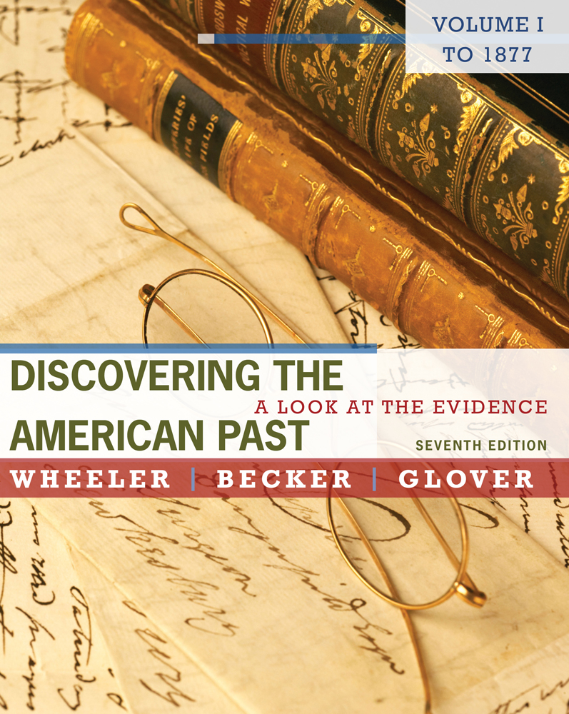dap of discovering the american past eighth edition by wheeler and glover Lorri glover discovering the american past vol edition: 7th published: 2011 format: hardcover author: william bruce wheeler.