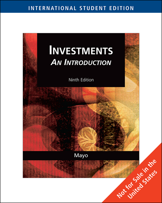 Analysis of investments and management of portfolios ebook investments an introduction international edition fandeluxe Gallery