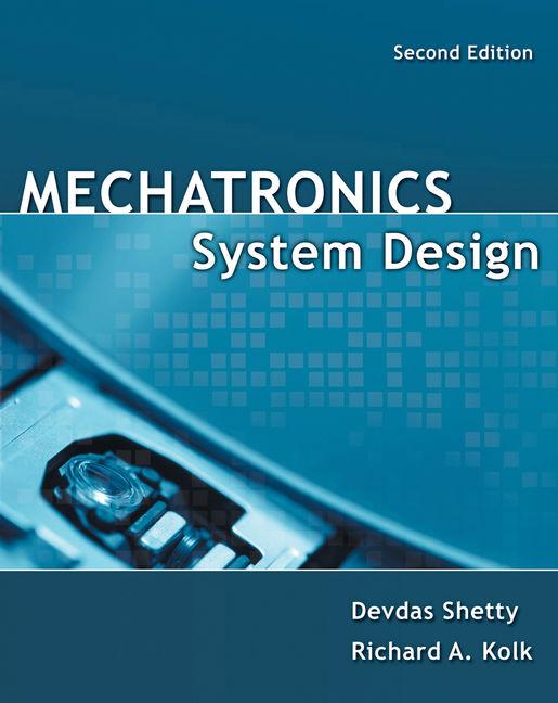 Mechatronics System Design, SI Version - 9781439061992 - Cengage