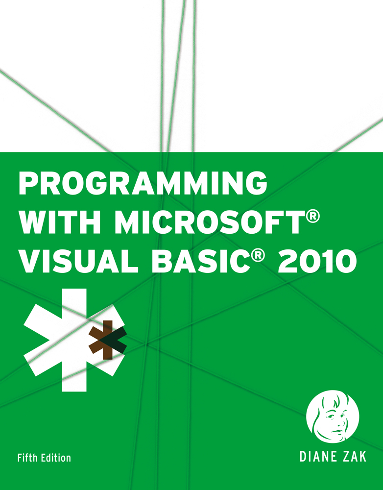 eBook: Programming with Microsoft® Visual Basic® 2010