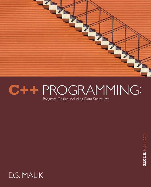C++ Programming - 9781133526322 - Cengage